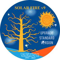 Upgrade Solar Fire V9 CD from Standard Version