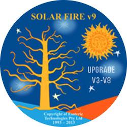 Solar Fire V9 Upgrade from V3-V8
